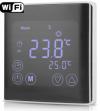 Терморегулятор EcoTerm BSN WI-FI Black