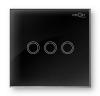 Вимикач сенсорний Profi therm 3TP, Elegant Black